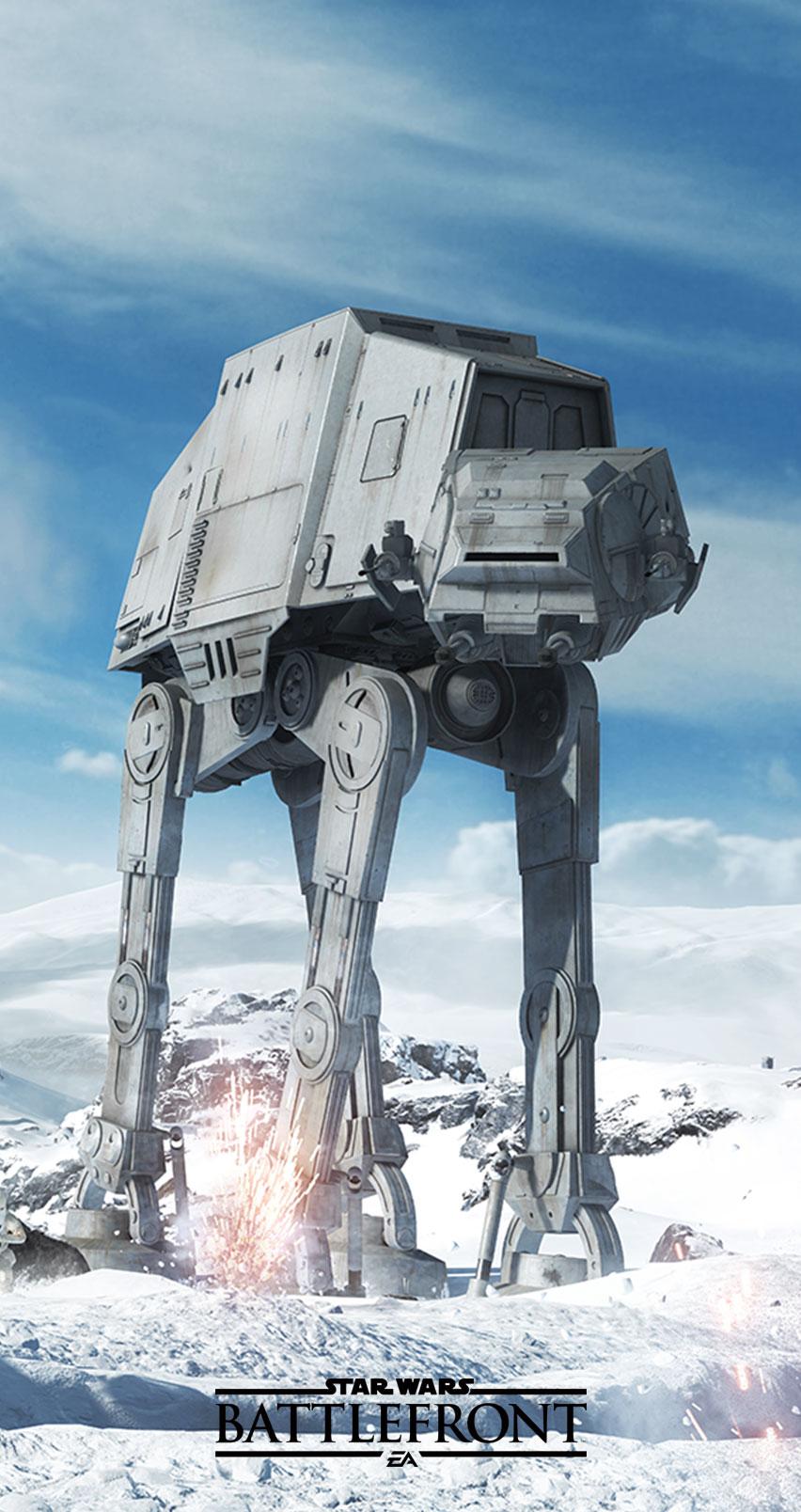 Star Wars Battlefront Wallpaper Handy 852x1608 Download Hd Wallpaper Wallpapertip
