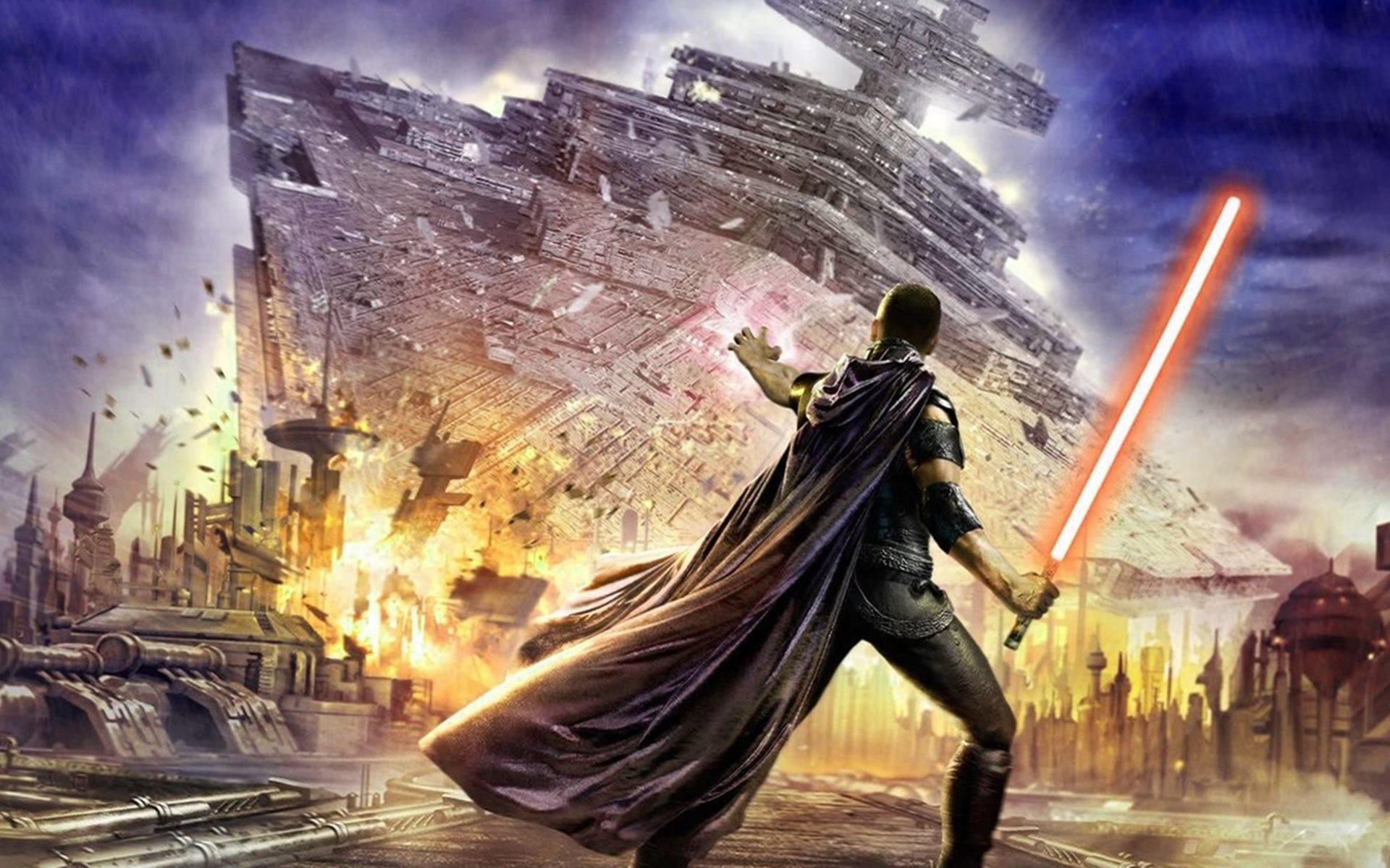 Star Wars Battlefront Hd Wallpapers 1080p Star War Background 1920x1200 Download Hd Wallpaper Wallpapertip