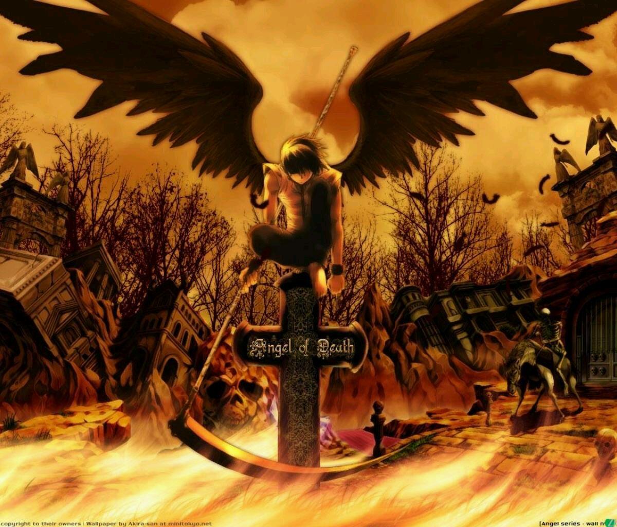 死の天使 死の天使壁紙 10x1024 Wallpapertip