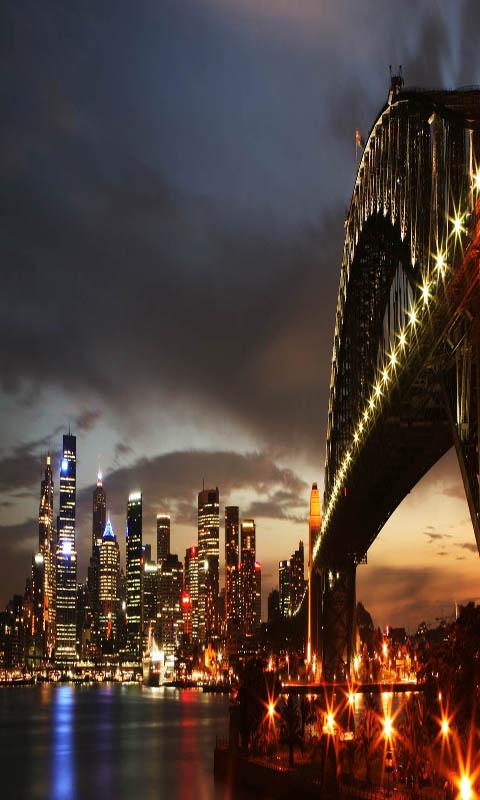 Sfondi New York Hd Notte Della Citta Live Wallpaper 480x800 Wallpapertip