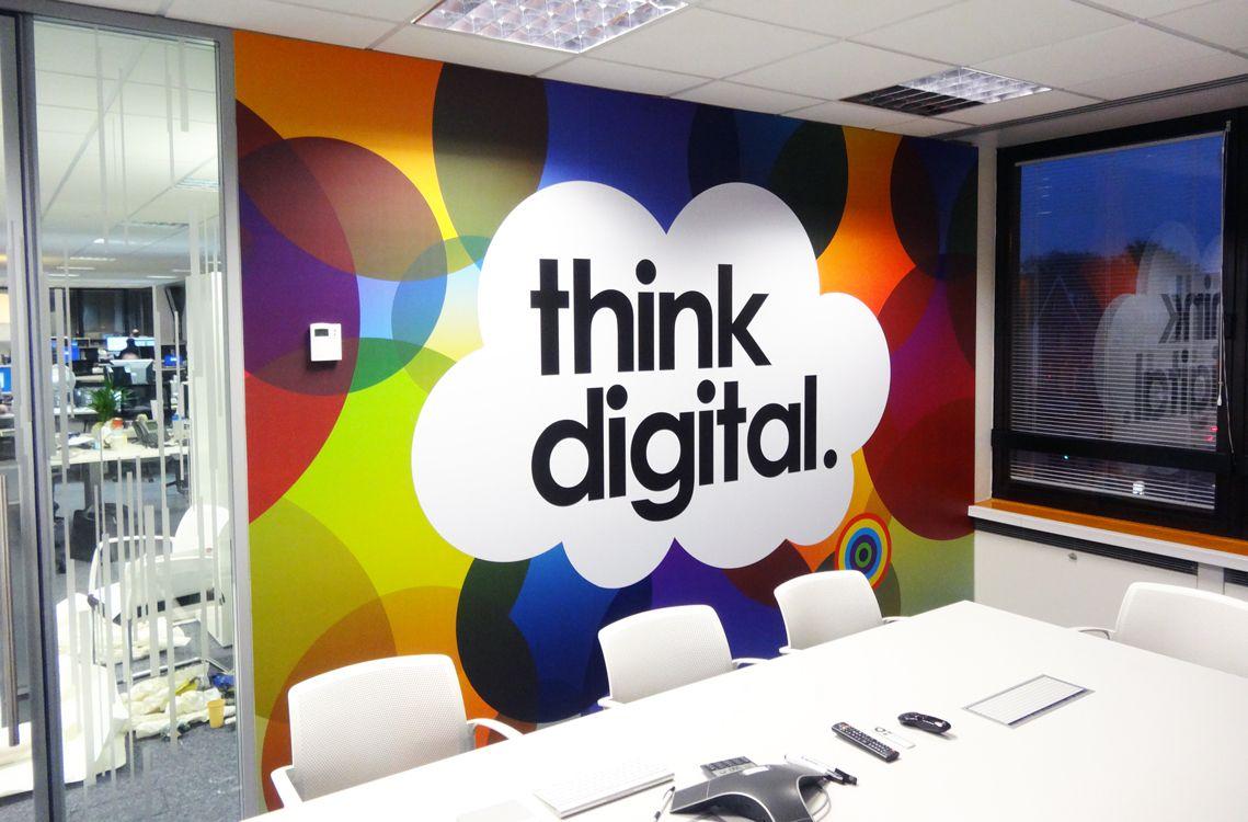 Creative Office Wall Decor Ideas - 736x484 - Download HD Wallpaper - WallpaperTip