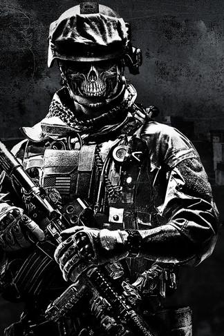 Battlefield 3 Soldier Iphone 4s Wallpaper Devil Dog Us Marines 324x487 Download Hd Wallpaper Wallpapertip