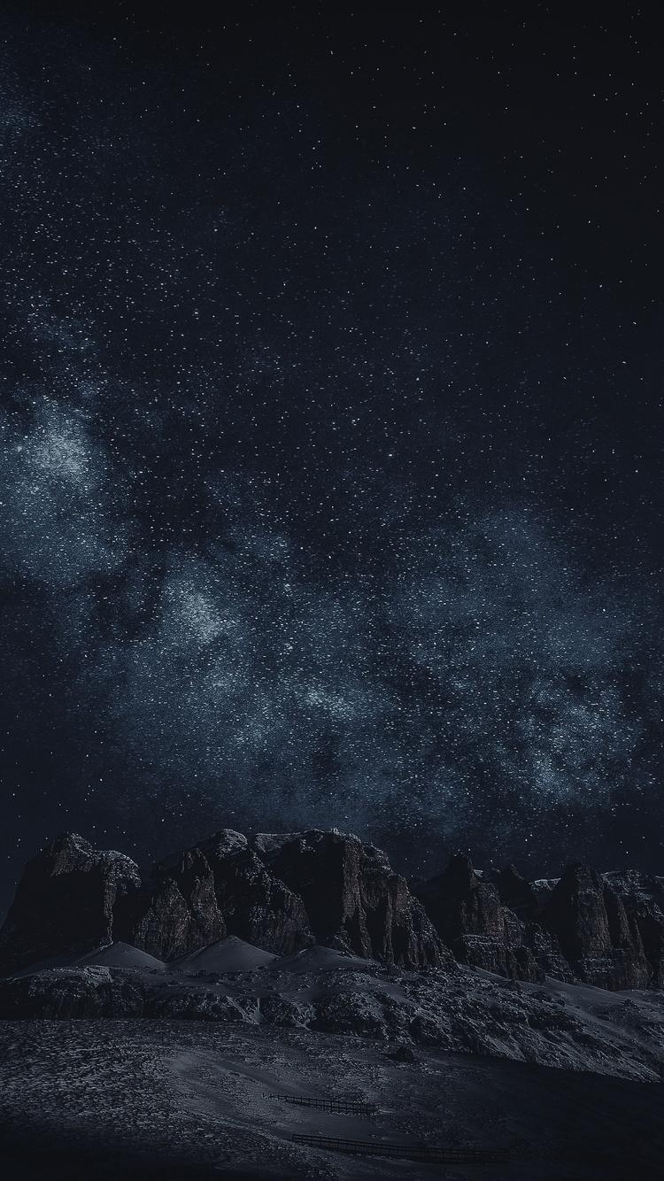 Iphone用の夜空の壁紙 モバイル用の夜の壁紙のhd 640x1136 Wallpapertip