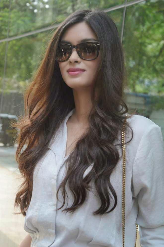 Diana Penty Hair