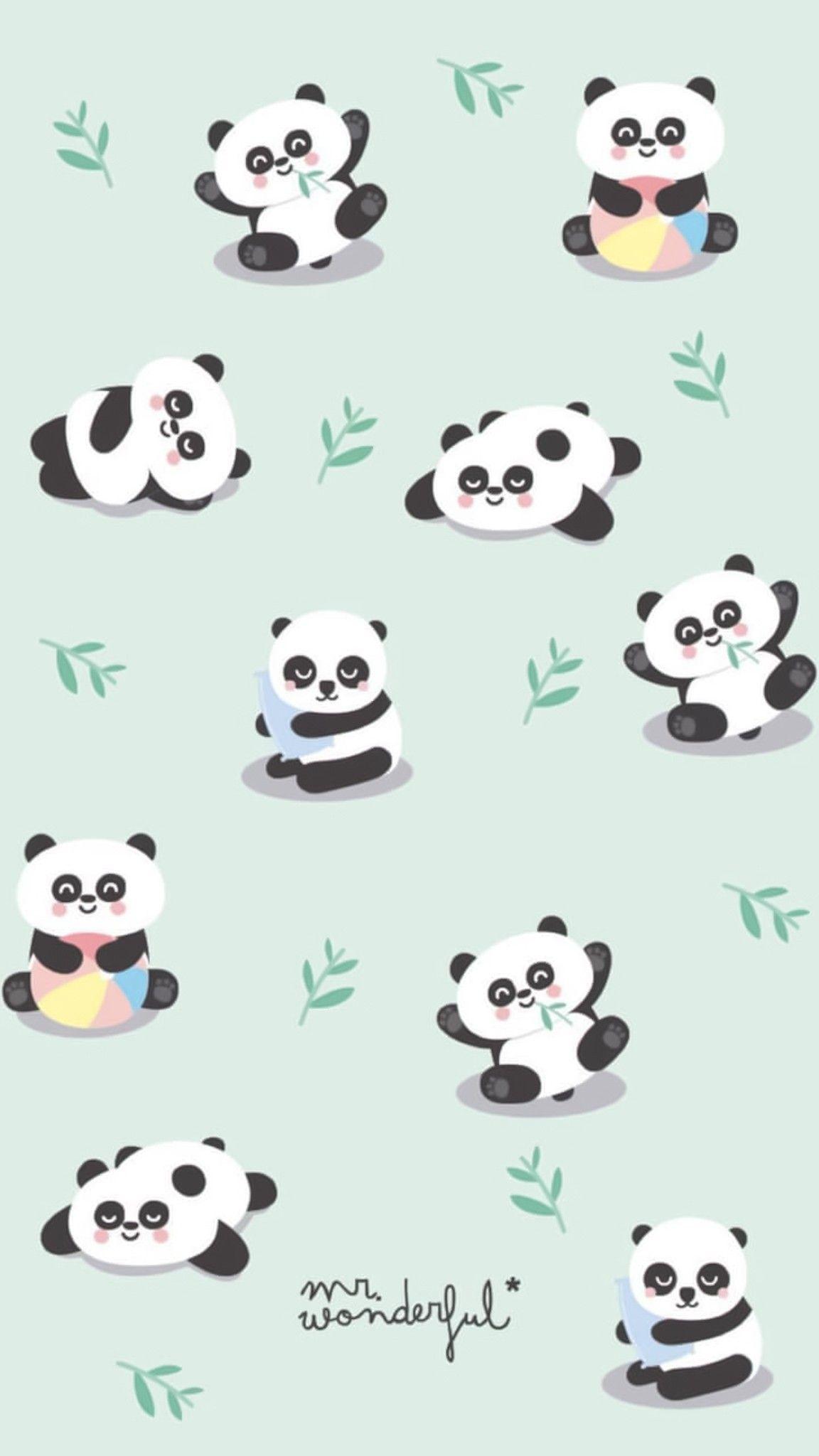 Panda Wallpaper Tumblr Cute Pandas Wallpaper Iphone 720x1280 Download Hd Wallpaper Wallpapertip