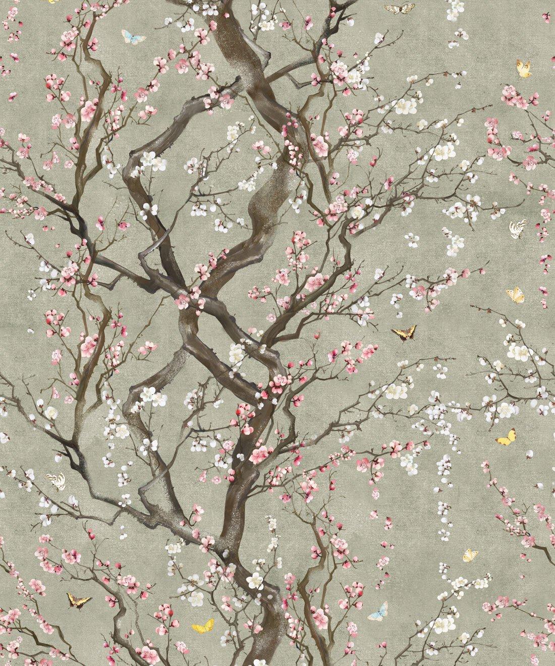桜壁紙イギリス 家の壁紙 1100x13 Wallpapertip