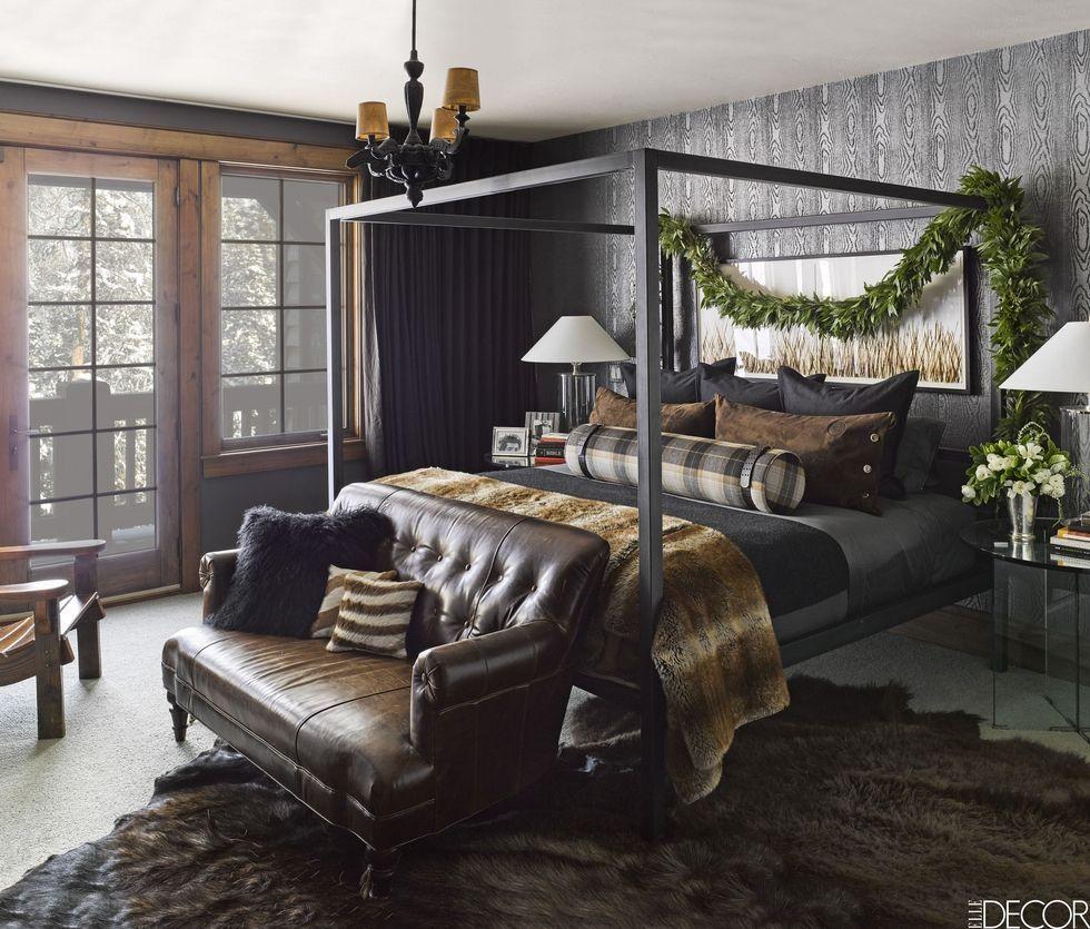 Wallpaper Design Ideas Black Bedroom Interior Design 980x835 Download Hd Wallpaper Wallpapertip