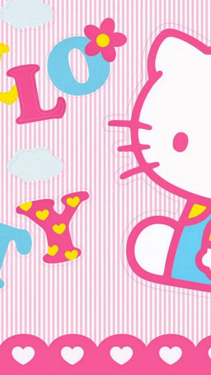 Hello Kitty Wallpaper Wa 675x1200 Download Hd Wallpaper Wallpapertip