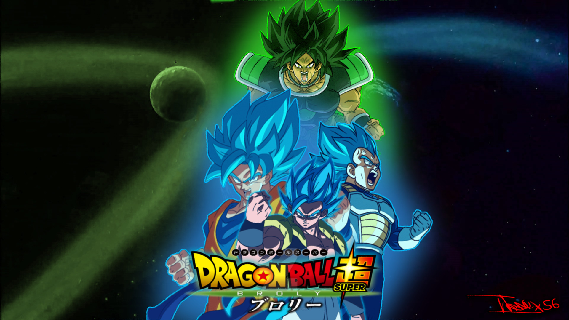 Movie Dragon Ball Super Broly 1920x1080 Download Hd Wallpaper Wallpapertip