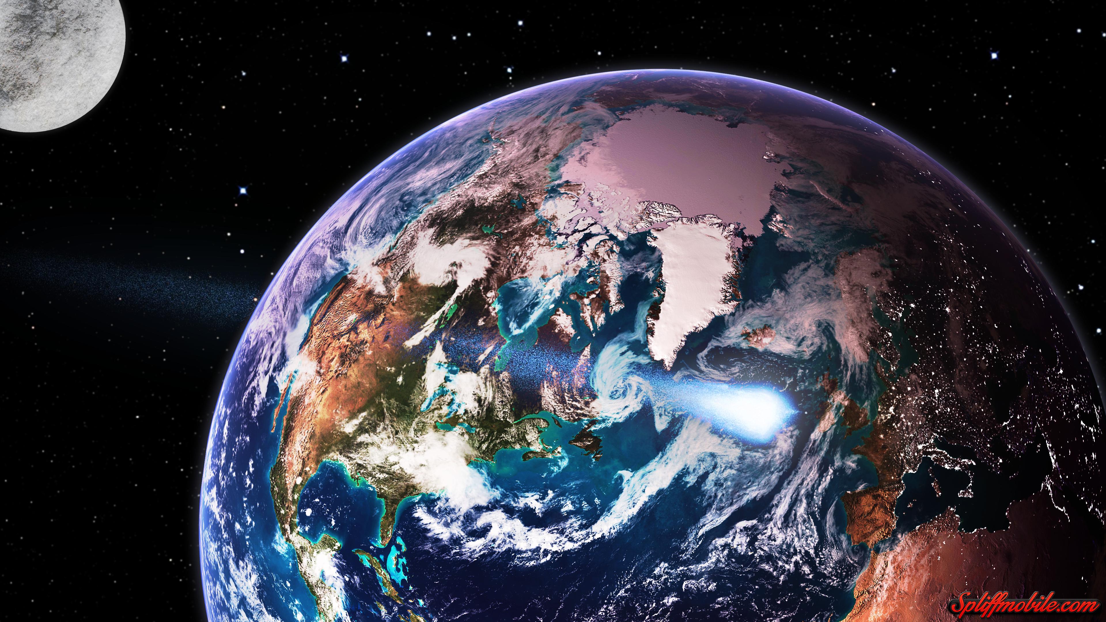 Hd Earth Wallpapers 4k Ultra Hd Earth 3840x2160 Download Hd Wallpaper Wallpapertip