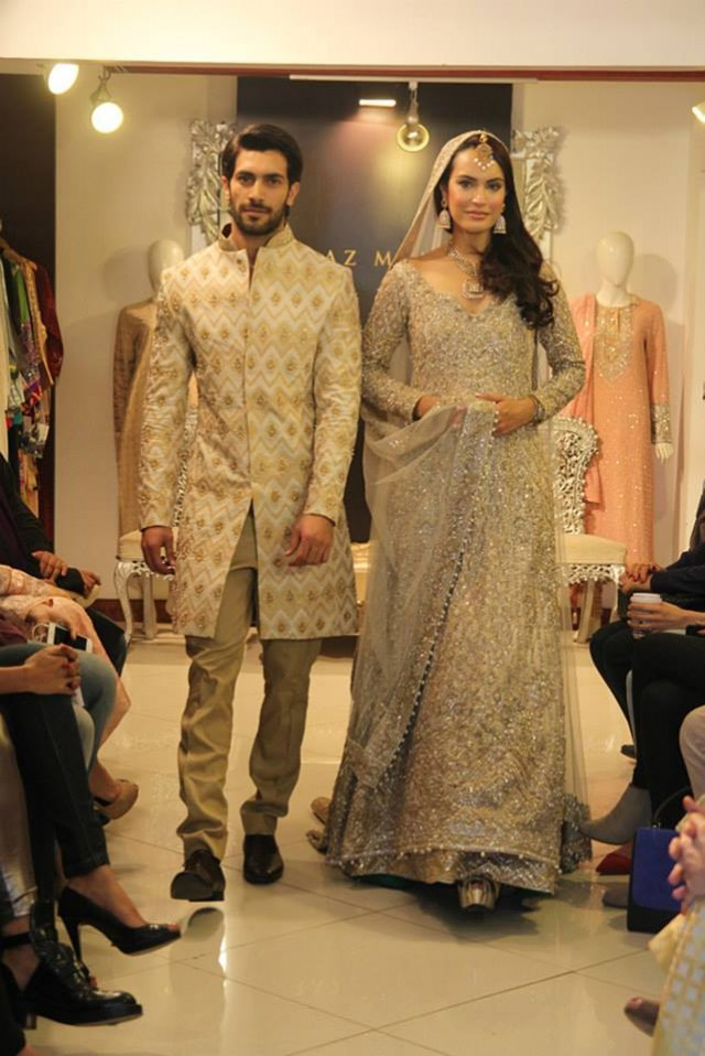 Pakistani New Fashion Dress Designer Faraz Manan Bridal Faraz Manan Wedding Dress Men 640x958 Download Hd Wallpaper Wallpapertip