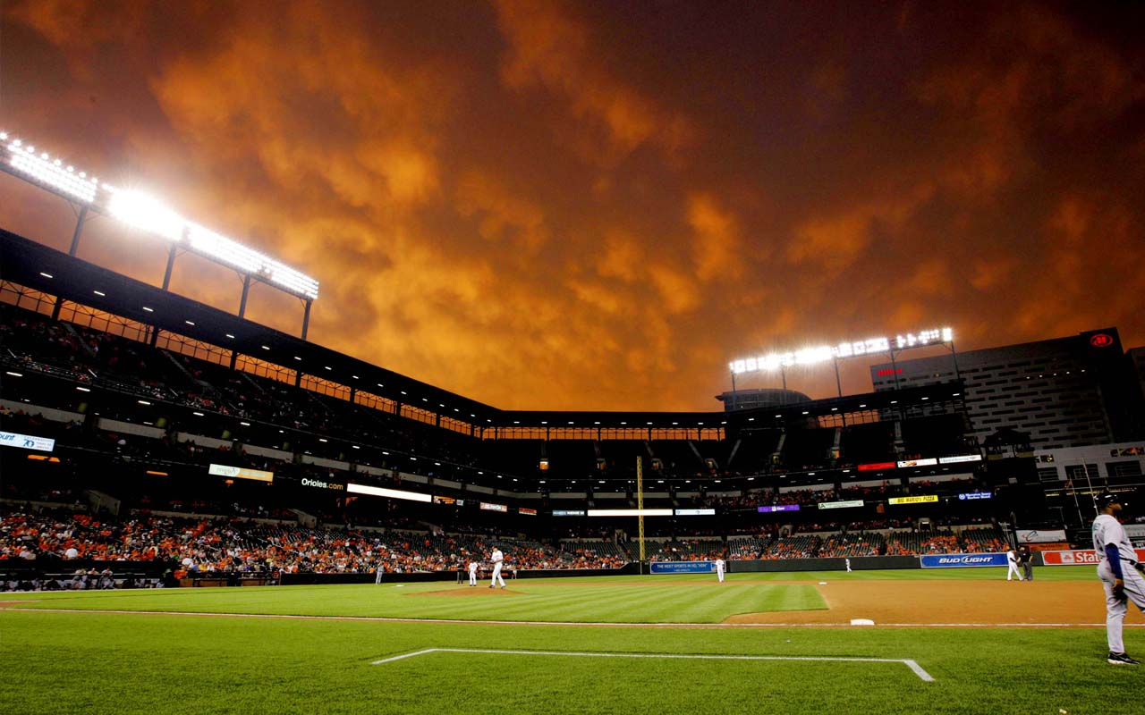 Baseball Stadium Wallpaper Camden Yards Background 1280x800 Download Hd Wallpaper Wallpapertip