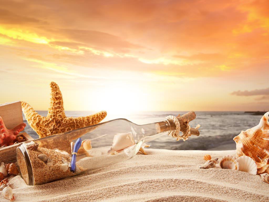Desktop Wallpaper Sunset Beach 1024x768 Download Hd Wallpaper Wallpapertip