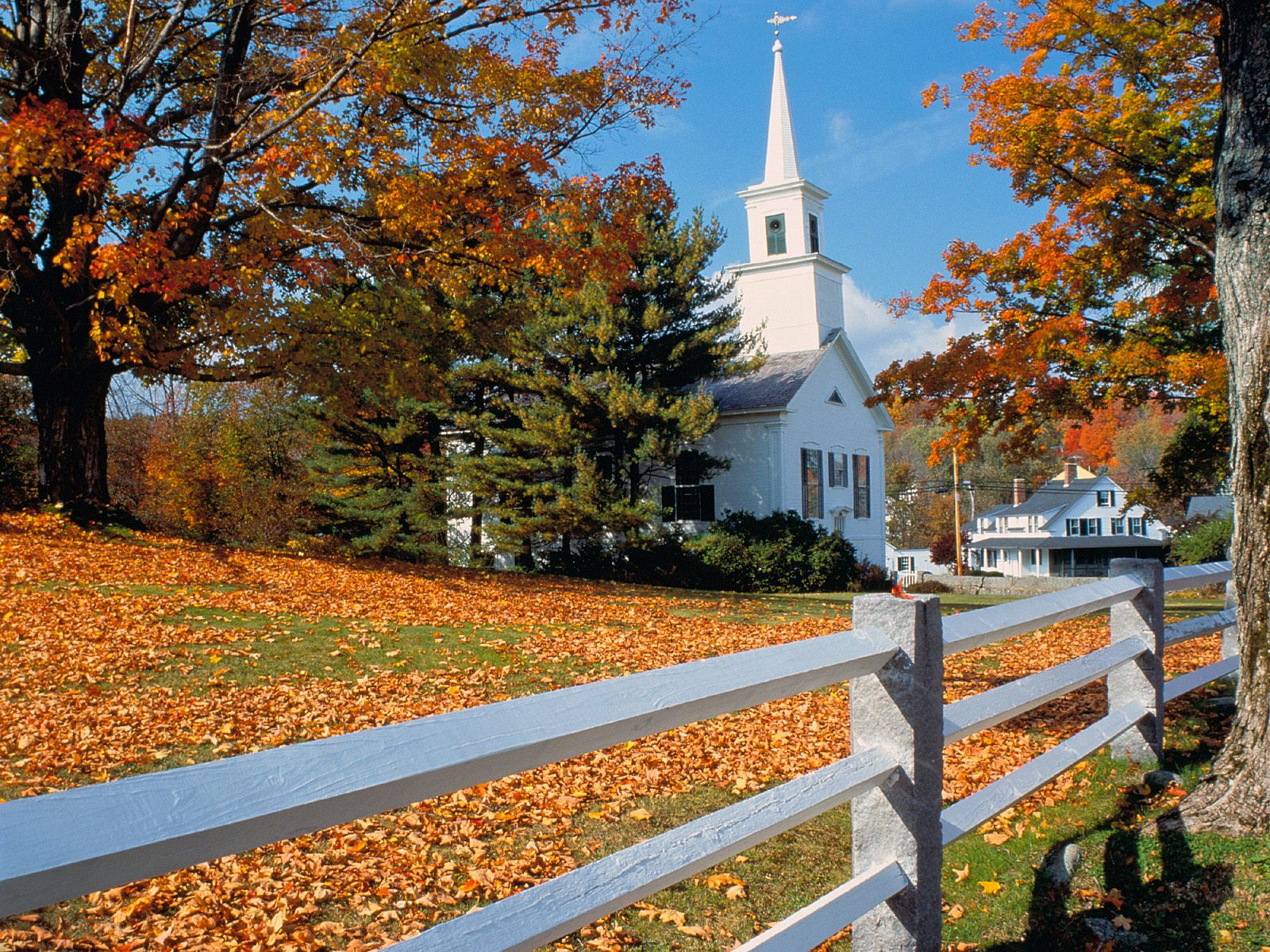 Autumn New England6 New England Fall Desktop 1600x1200 Download Hd Wallpaper Wallpapertip