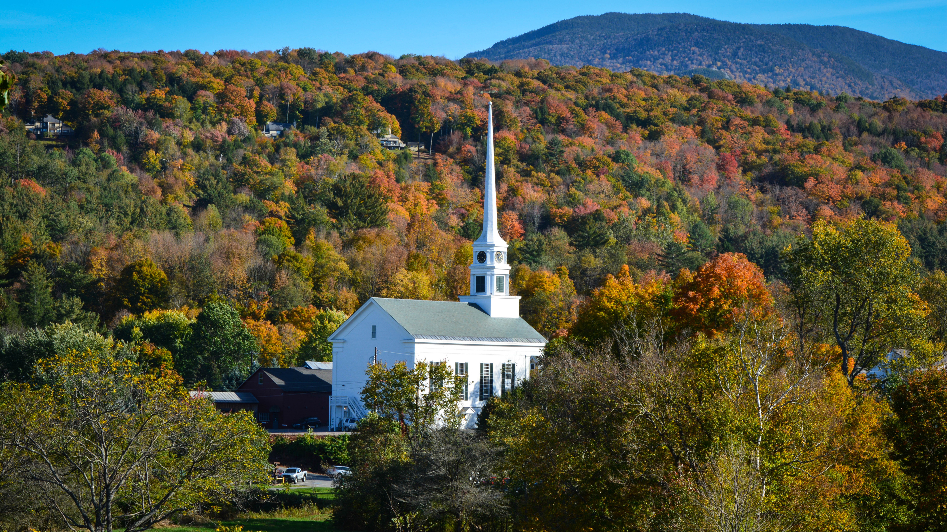 Autumn In New England Wallpaper 3840x2160 Download Hd Wallpaper Wallpapertip