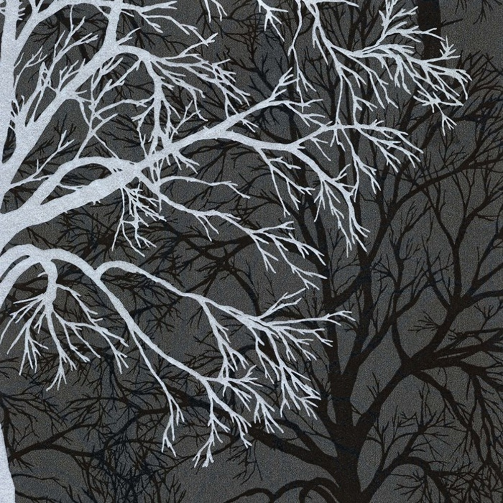 Black And Silver Tree - 1000x1000 ...