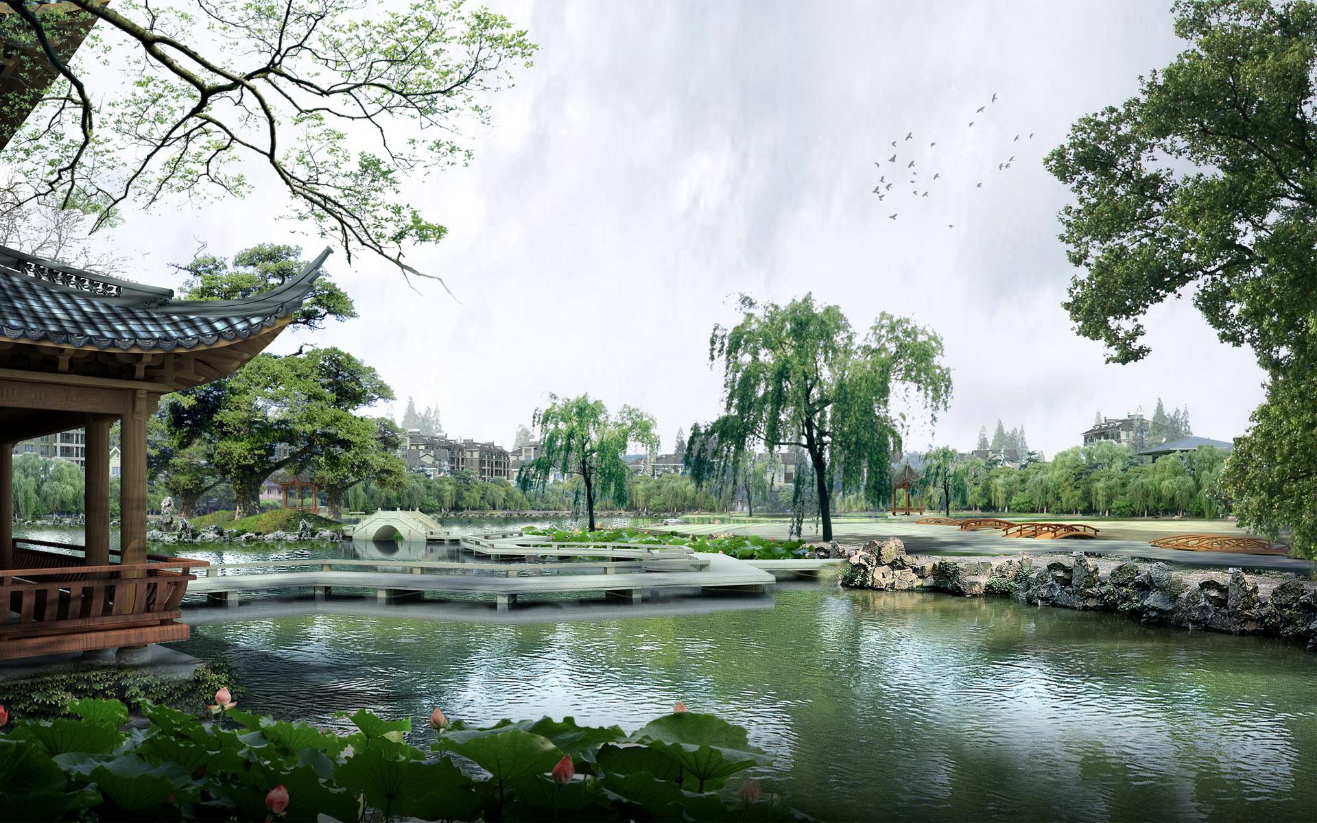 中国の風景の背景 中国の壁紙のhd 19x10 Wallpapertip