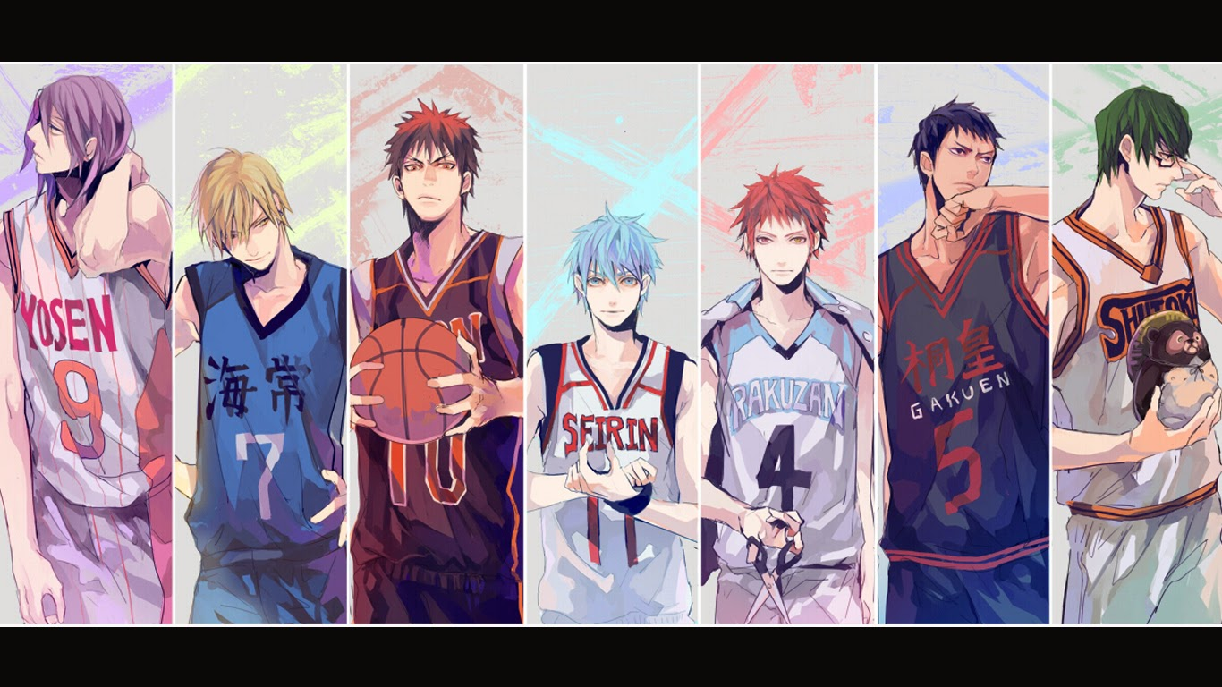 Kuroko S Basketball Characters 6 High Resolution Wallpaper Kuroko No Basket Wallpaper 4k 1366x768 Download Hd Wallpaper Wallpapertip