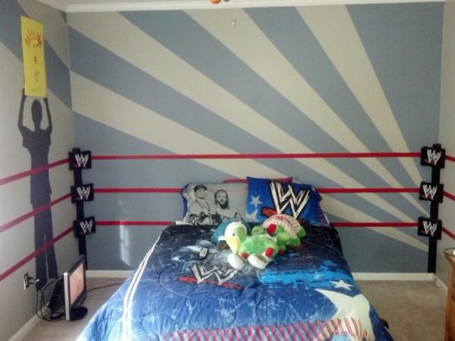 Wwe Wallpaper Border For Boys Bedroom Bedroom 648x486 Download Hd Wallpaper Wallpapertip