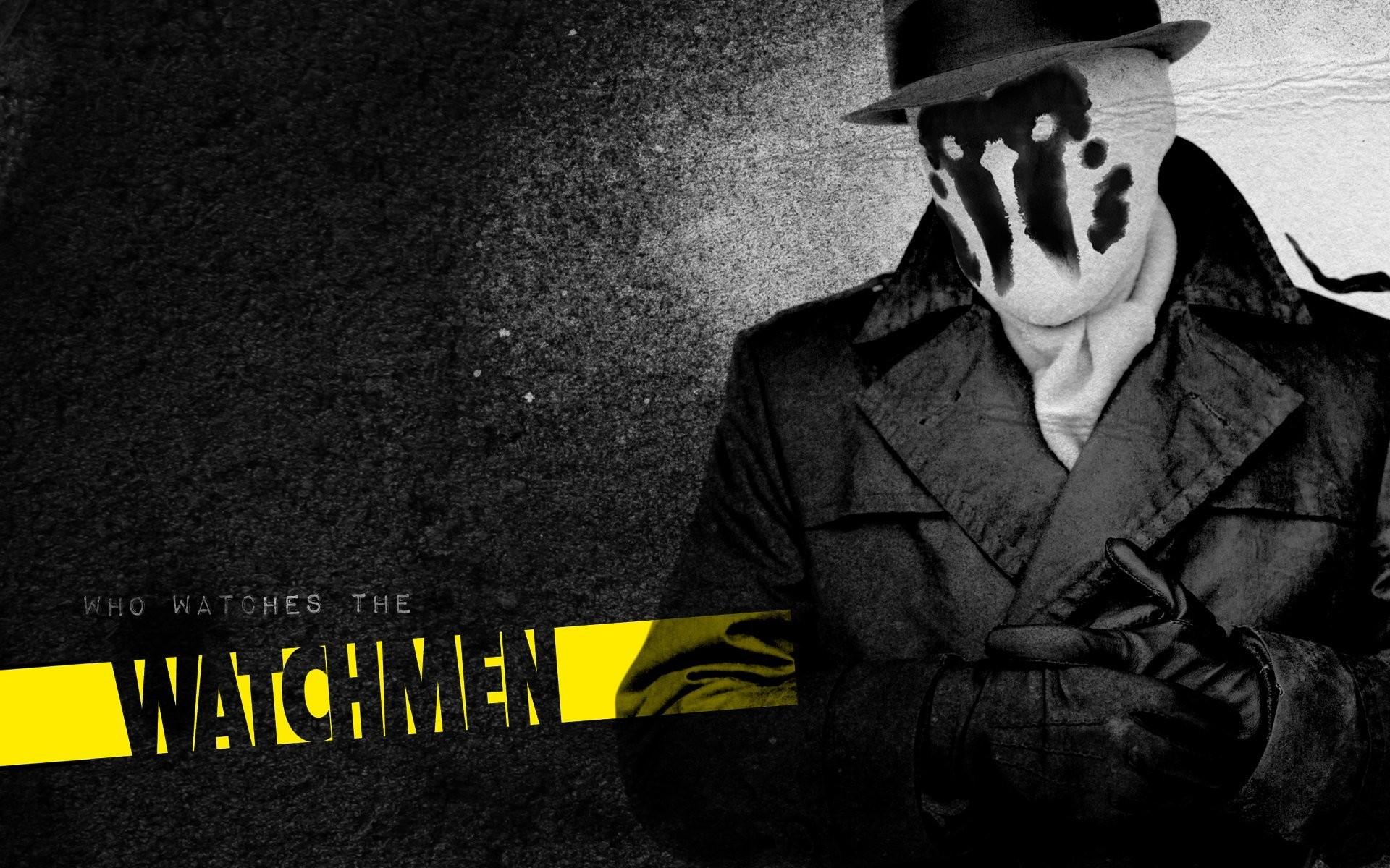 Manhattan Rorschach Watchmen 1920x1200 Download Hd Wallpaper Wallpapertip