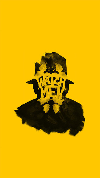 Watchmen Iphone Wallpaper Rorschach Watchmen Wallpaper Iphone 324x576 Download Hd Wallpaper Wallpapertip