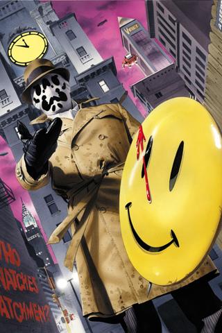 Rorschach Watchmen Wallpaper Iphone 320x480 Download Hd Wallpaper Wallpapertip