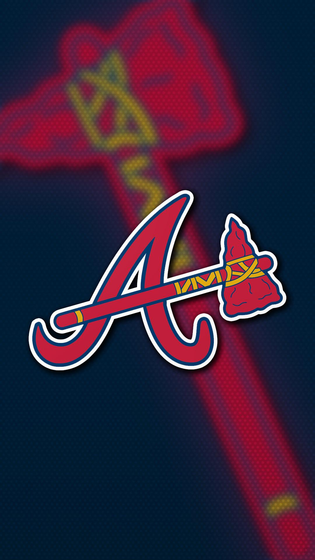 Atlanta Braves Tomahawk 01 Data Src Gorgerous Atlanta Atlanta Braves Wallpaper Iphone 1080x1920 Download Hd Wallpaper Wallpapertip