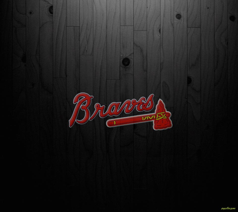 Hd Wallpapers Atlanta Braves Black Logo 960x854 Download Hd Wallpaper Wallpapertip