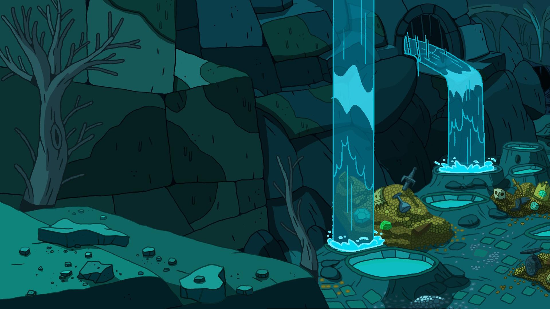Adventure Time Landscape Art 1920x1080 Download Hd Wallpaper Wallpapertip