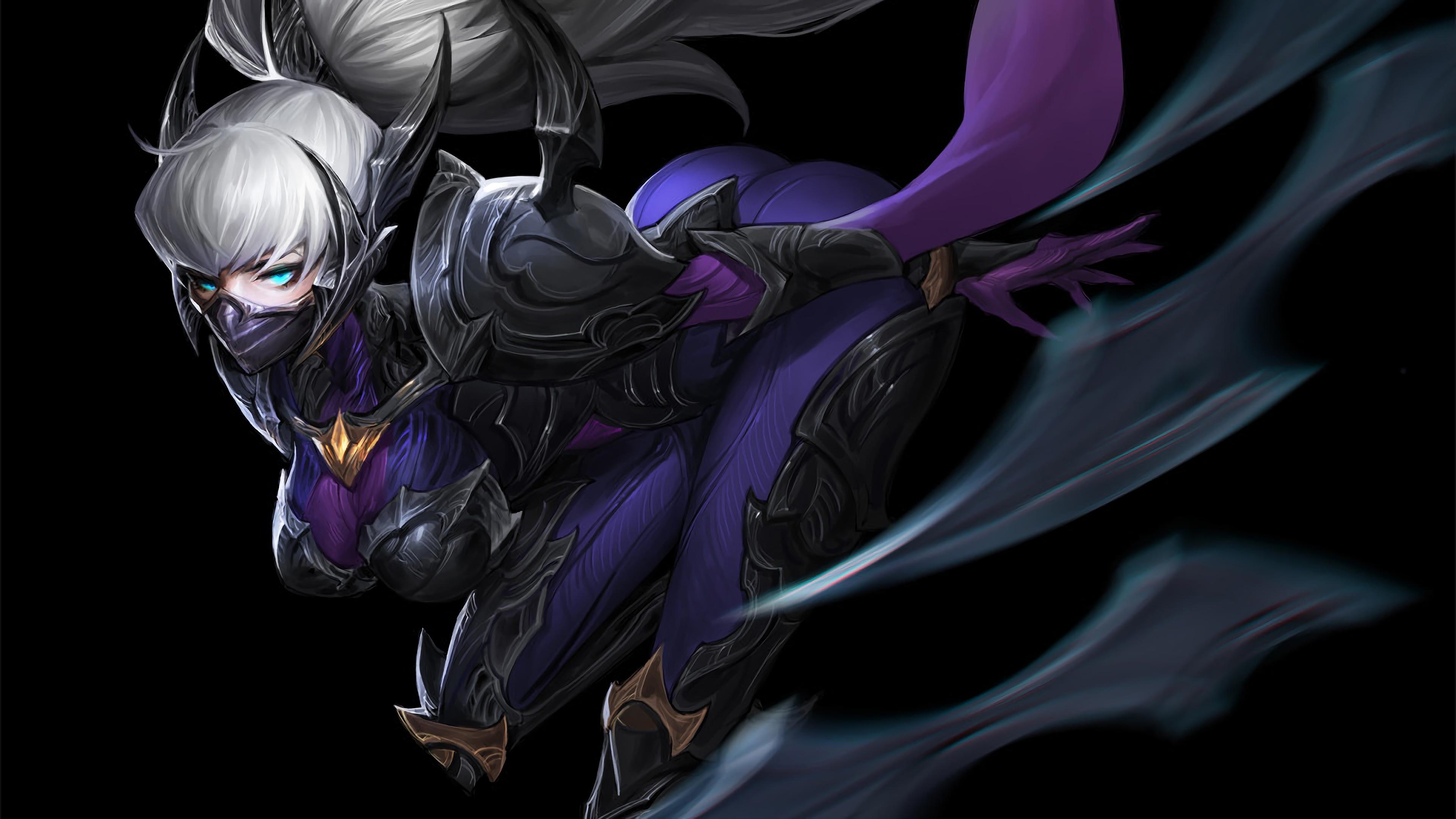 Irelia Nightblade Rework Fanart 3840x2160 Download Hd Wallpaper Wallpapertip