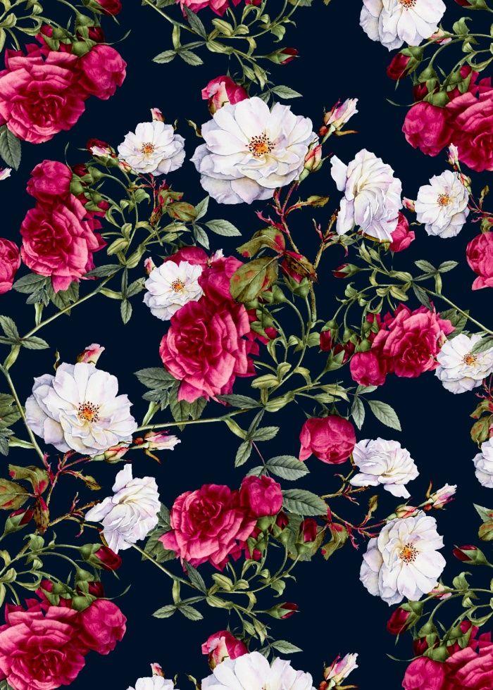 Floral Vintage Flower Background - 700x980 - Download HD ...