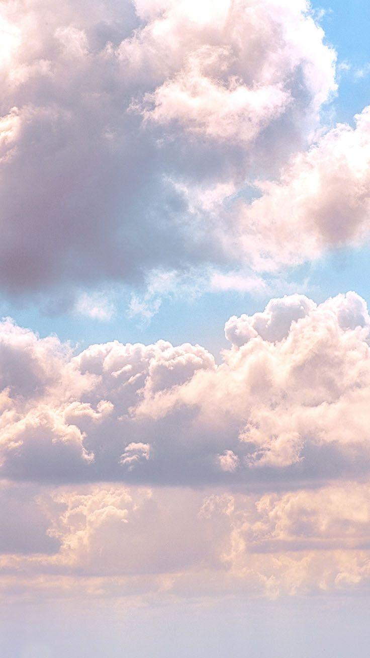 ästhetischer Wolkenhintergrund hd   Cloud 21 iPhone Wallpaper ...