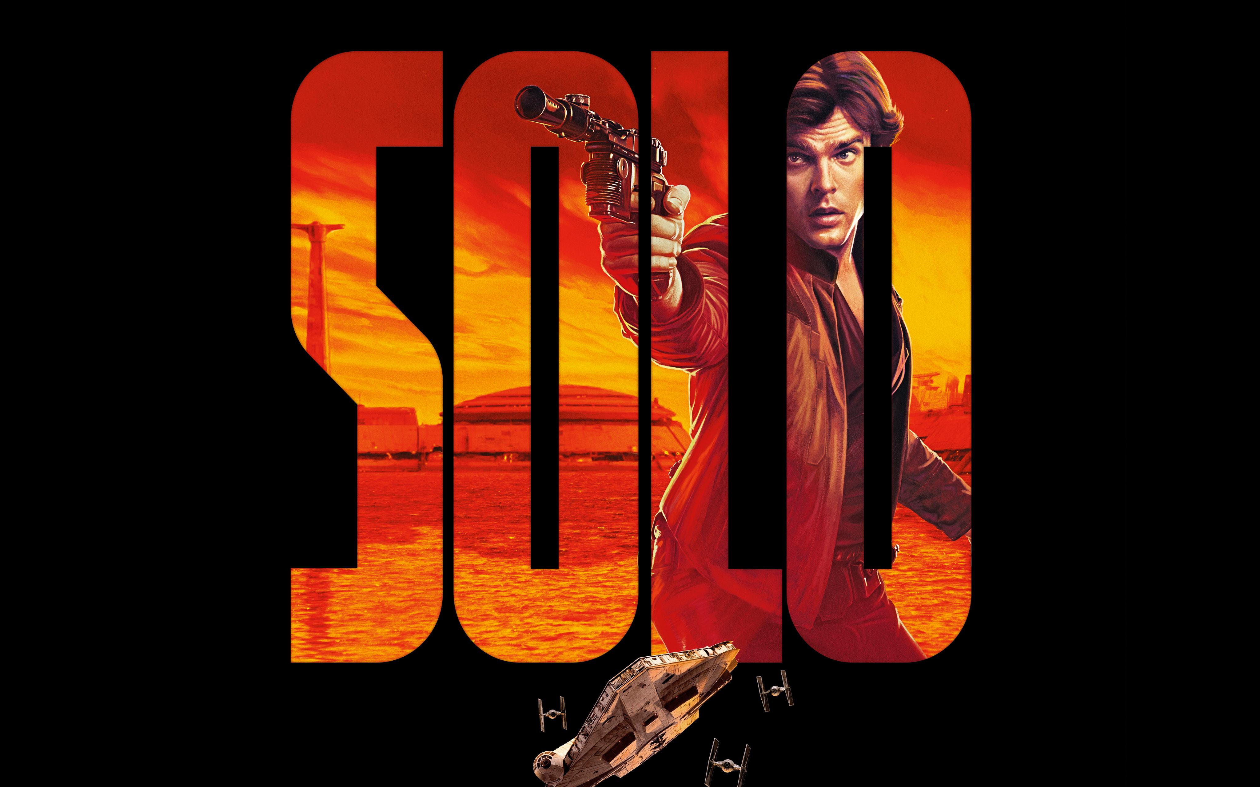 Solo Star Wars Background 4096x2560 Download Hd Wallpaper Wallpapertip
