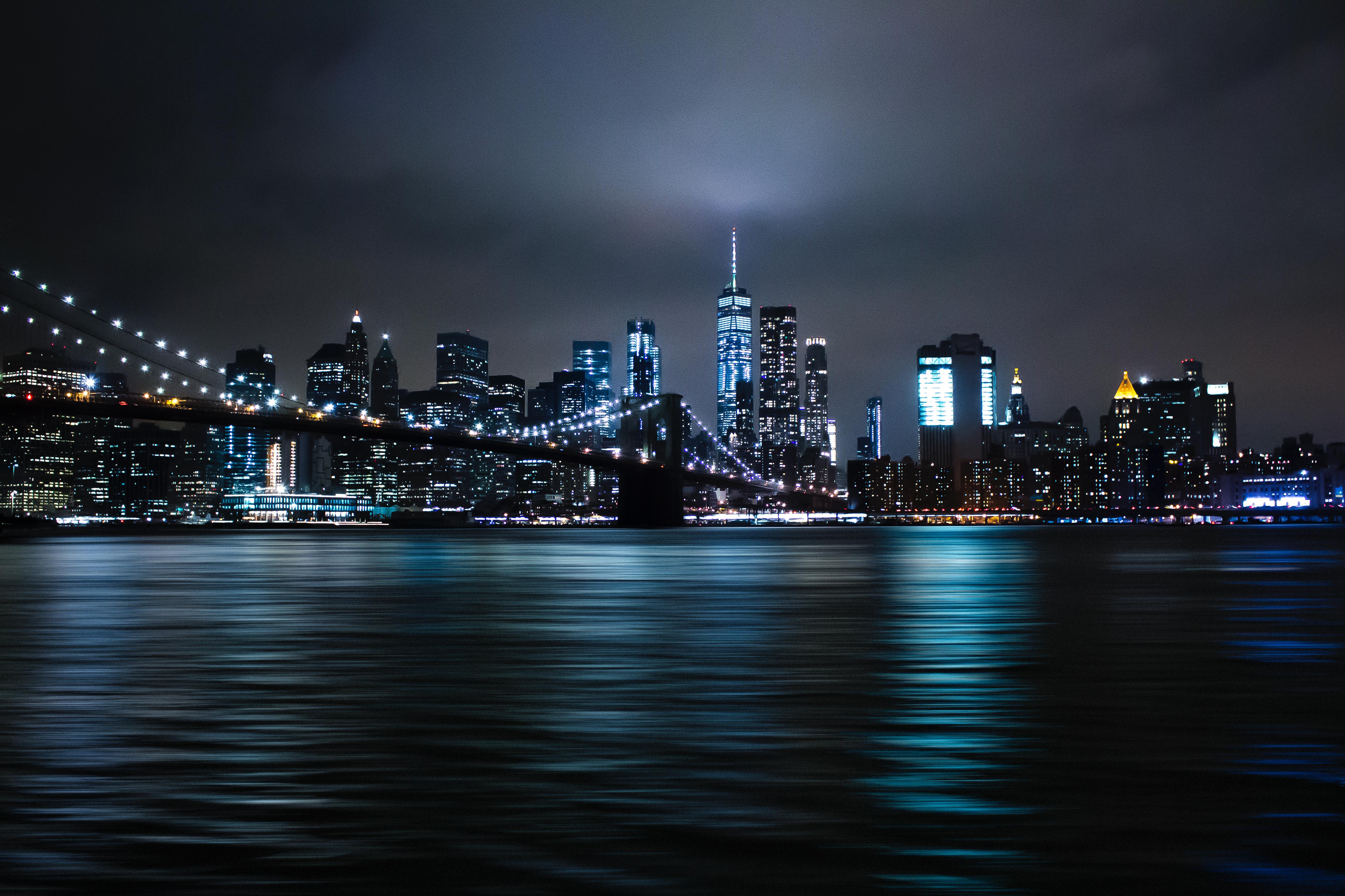 New York City At Night Wallpaper 5184x3456 Download Hd Wallpaper Wallpapertip