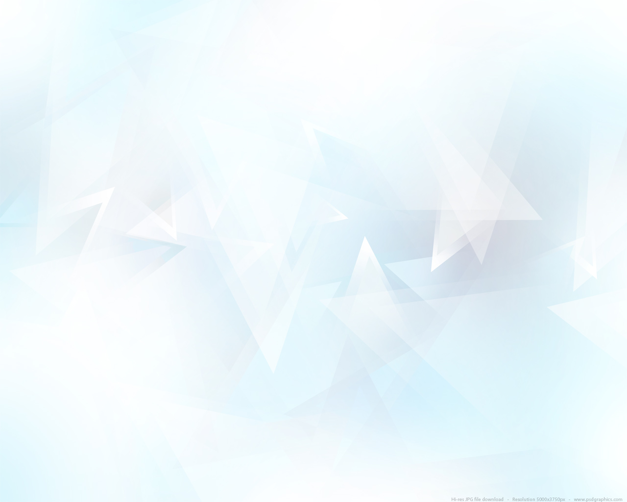 Abstract Light Blue Triangles Background Psdgraphics Blue Wallpaper White Background 1280x1024 Download Hd Wallpaper Wallpapertip