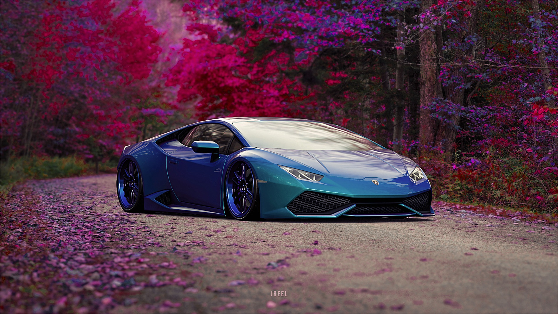 Blue Wallpaper Lamborghini Car 1920x1080 Download Hd Wallpaper Wallpapertip