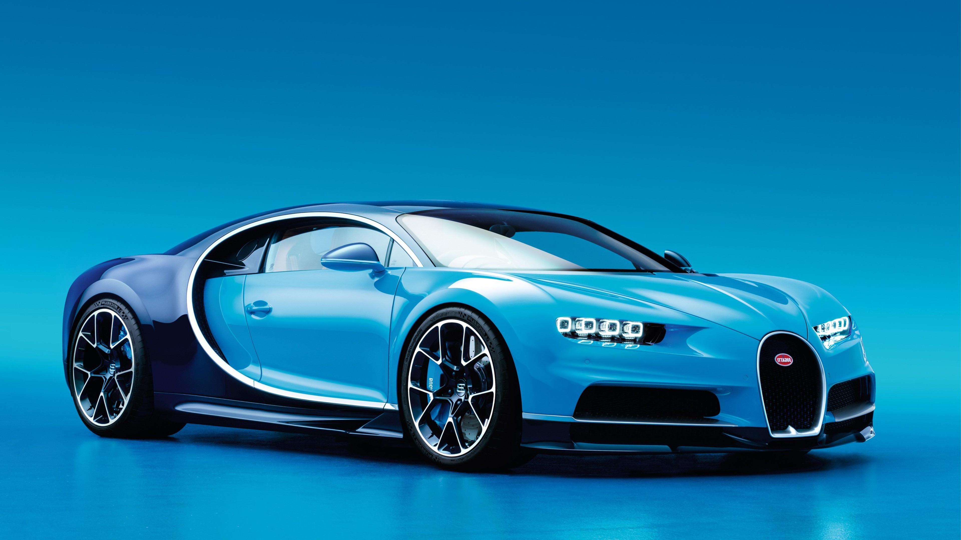 Bugatti Chiron 4k Blue 3840x2160 Download Hd Wallpaper Wallpapertip
