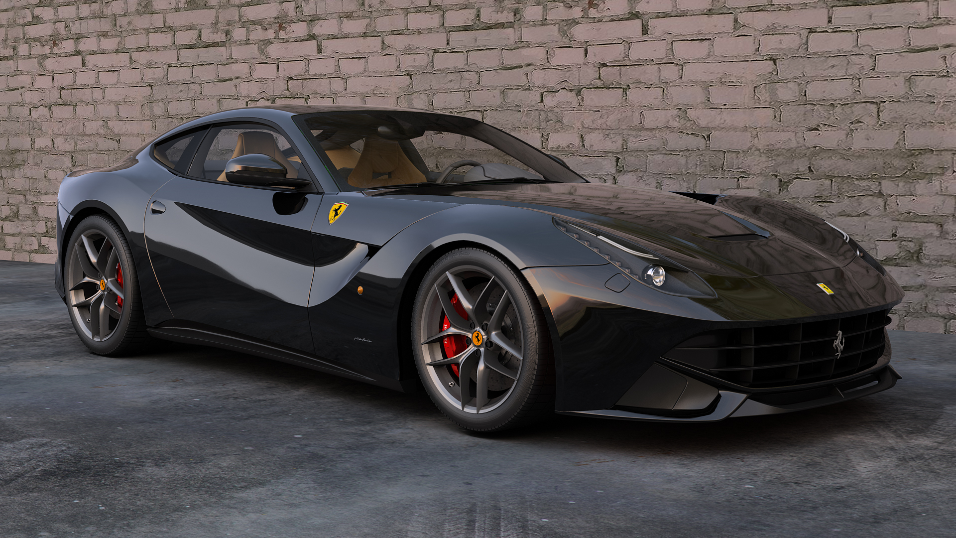 Ferrari F Berlinetta Wallpaper Wp6002099 Ferrari F12 Berlinetta 6 3 V12 1920x1080 Download Hd Wallpaper Wallpapertip