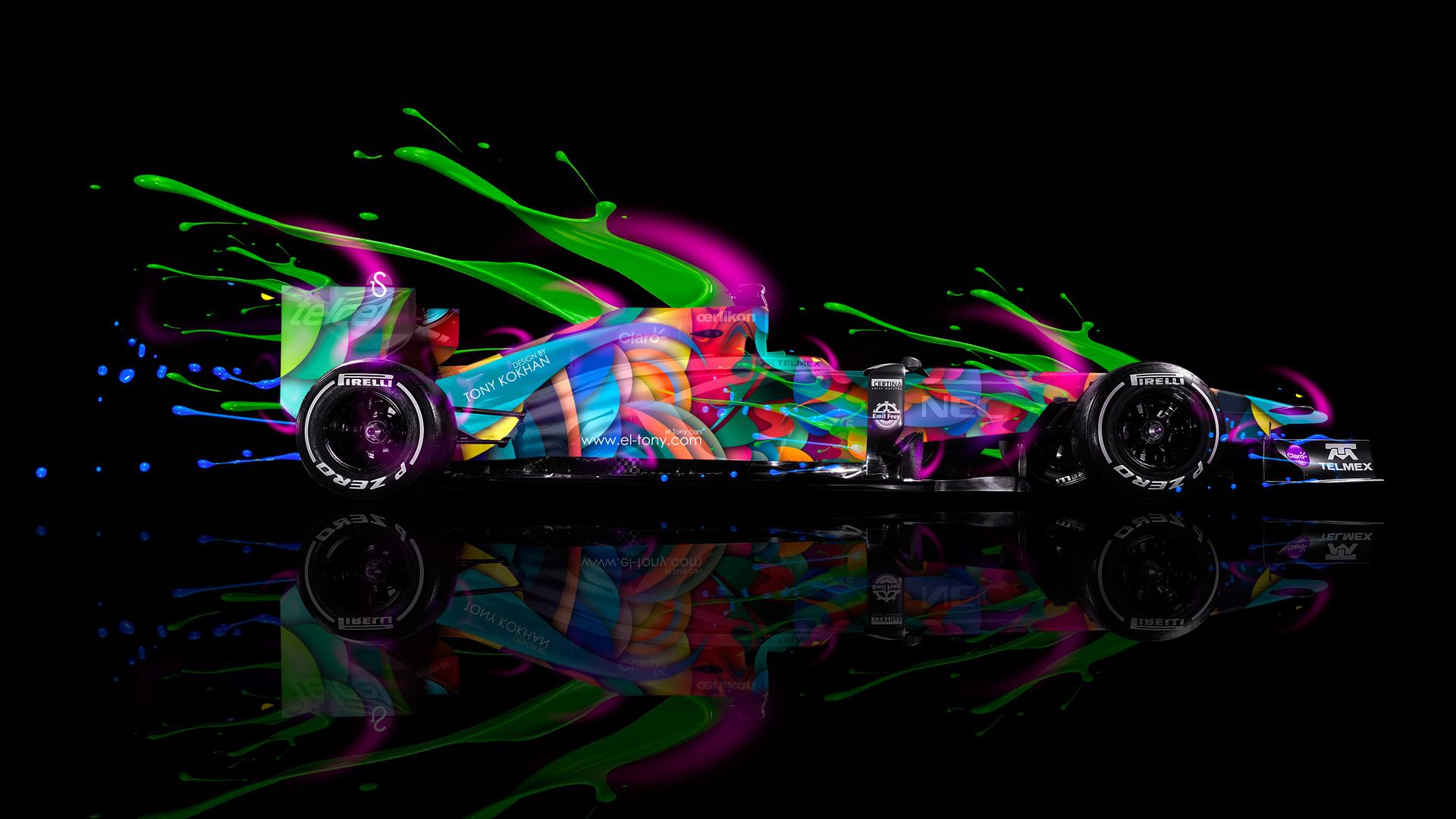 F1 Formula 1 Live Colors Car 2014 Multicolors Hd Wallpapers Hd Wallpaper F1 1920x1080 Download Hd Wallpaper Wallpapertip