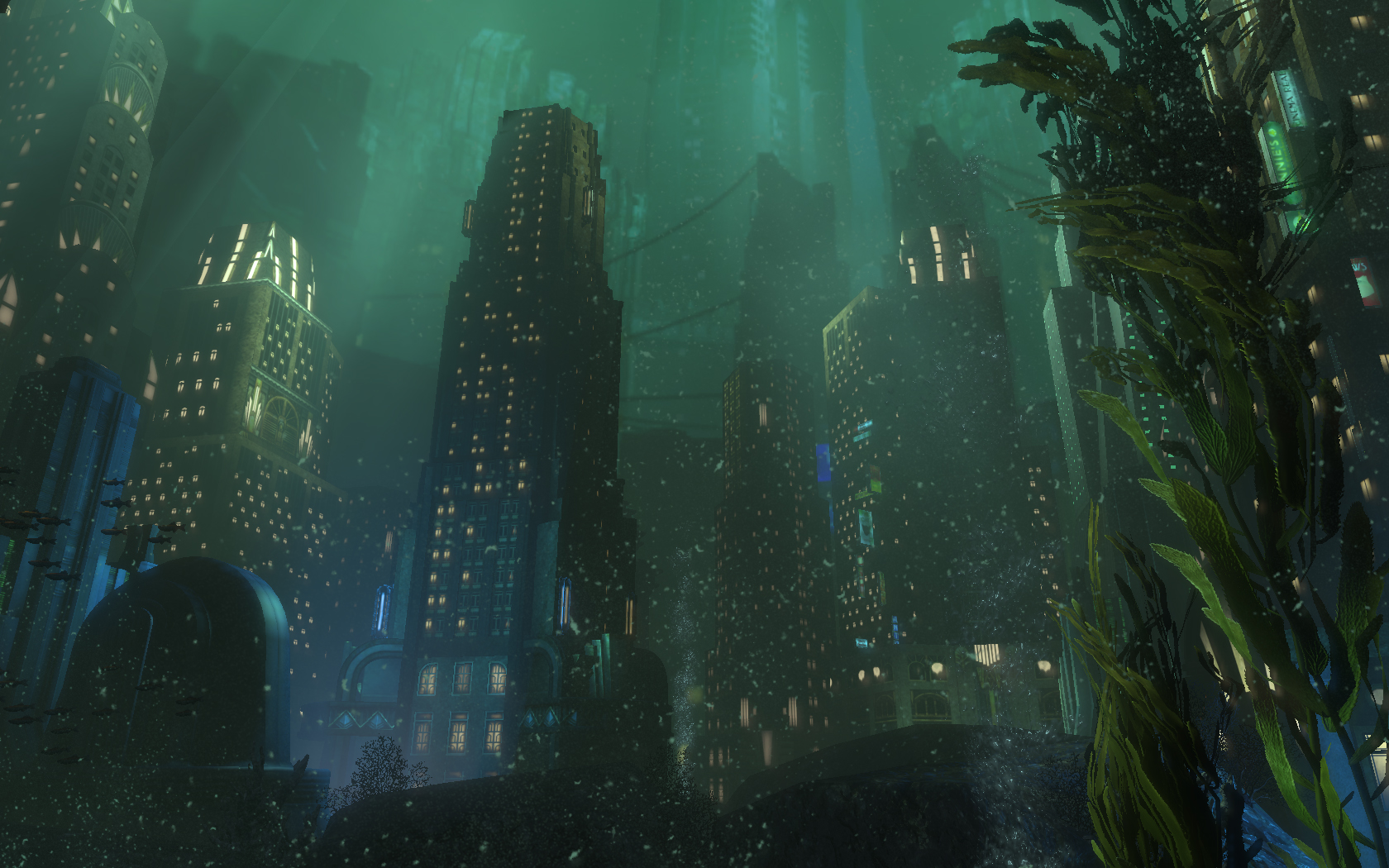 Bioshock Rapture Wallpaper Hd 1600x1000 Download Hd Wallpaper Wallpapertip