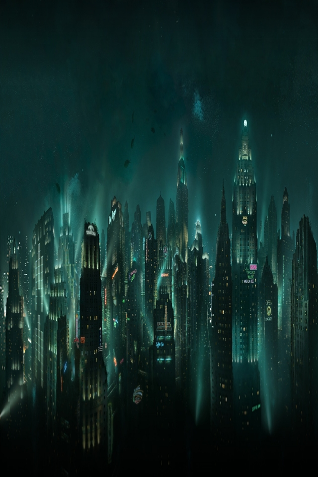 Wallpapers Bioshock Rapture 5596 Pixel Exotic Wallpaper Bioshock Rapture 640x960 Download Hd Wallpaper Wallpapertip