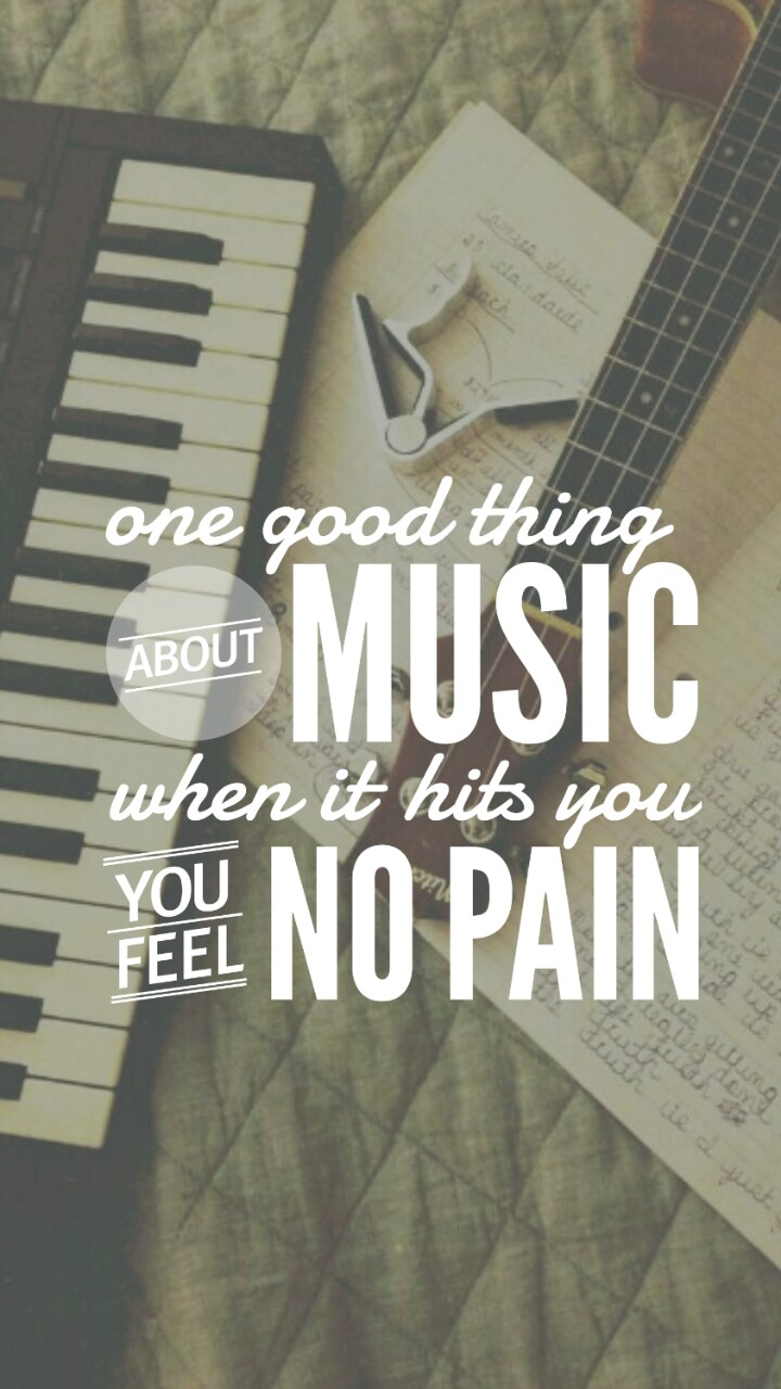 Quote Music Quotes Typography Wallpaper Life Quotes Music Quotes Wallpaper Iphone 720x1280 Download Hd Wallpaper Wallpapertip