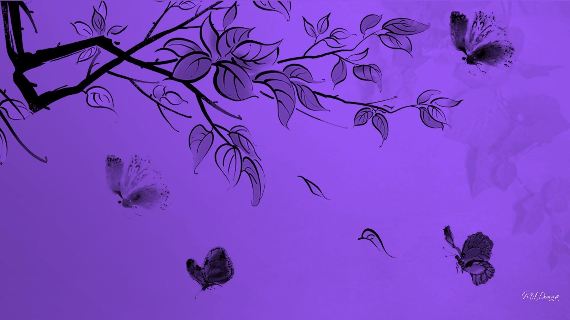 Kumpulan Wallpaper Kupu Kupu Cute Purple Wallpaper Computer 1920x1080 Download Hd Wallpaper Wallpapertip