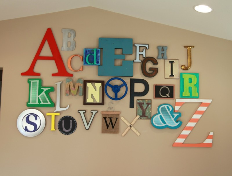 Hiasan Dinding Kreatif Wall Decor For Boys Playroom 800x606 Download Hd Wallpaper Wallpapertip
