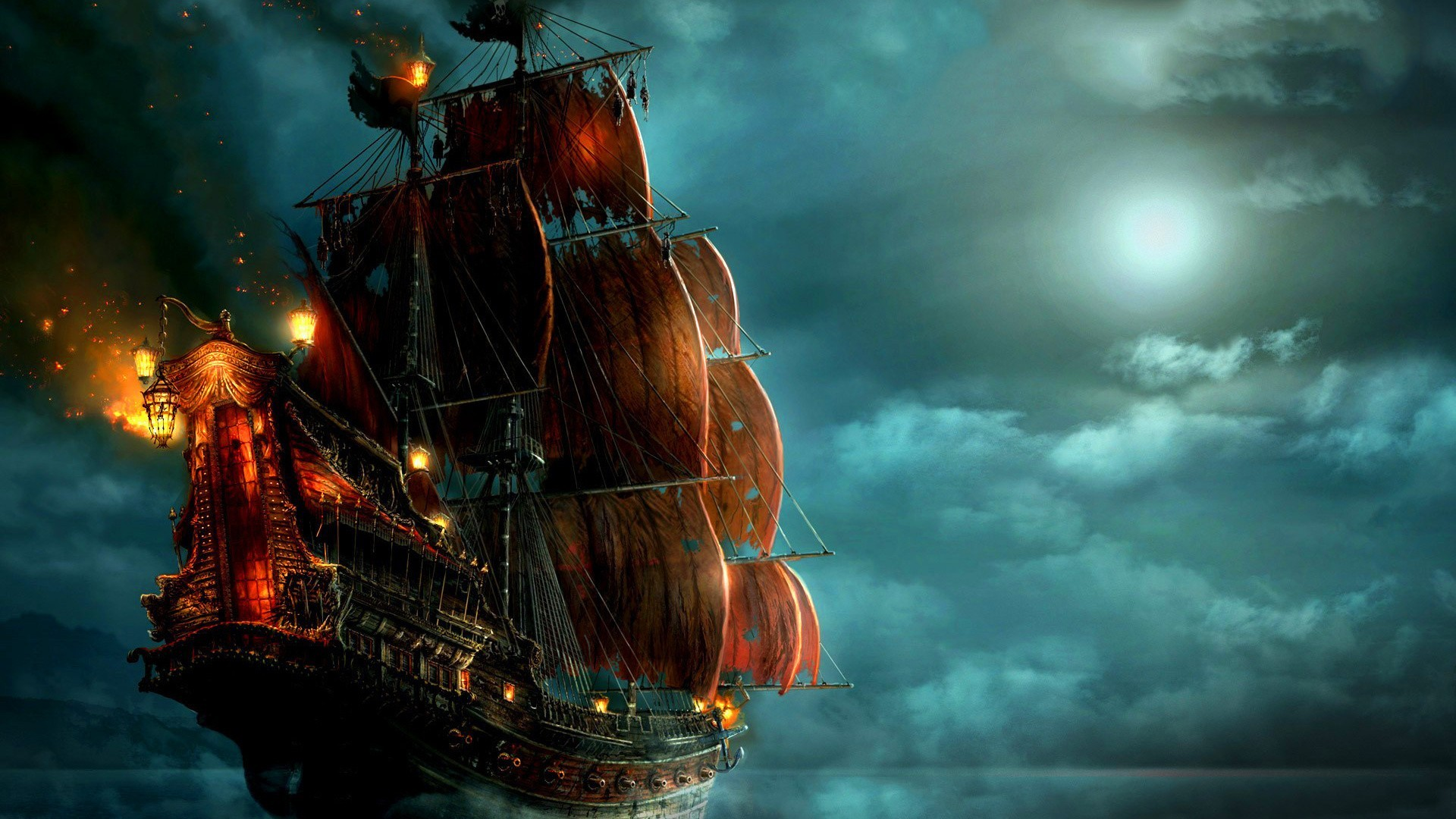 Download Amazing Funny Wallpapers Hd Gallery Src Pirates Of The Caribbean Ship 1920x1080 Download Hd Wallpaper Wallpapertip