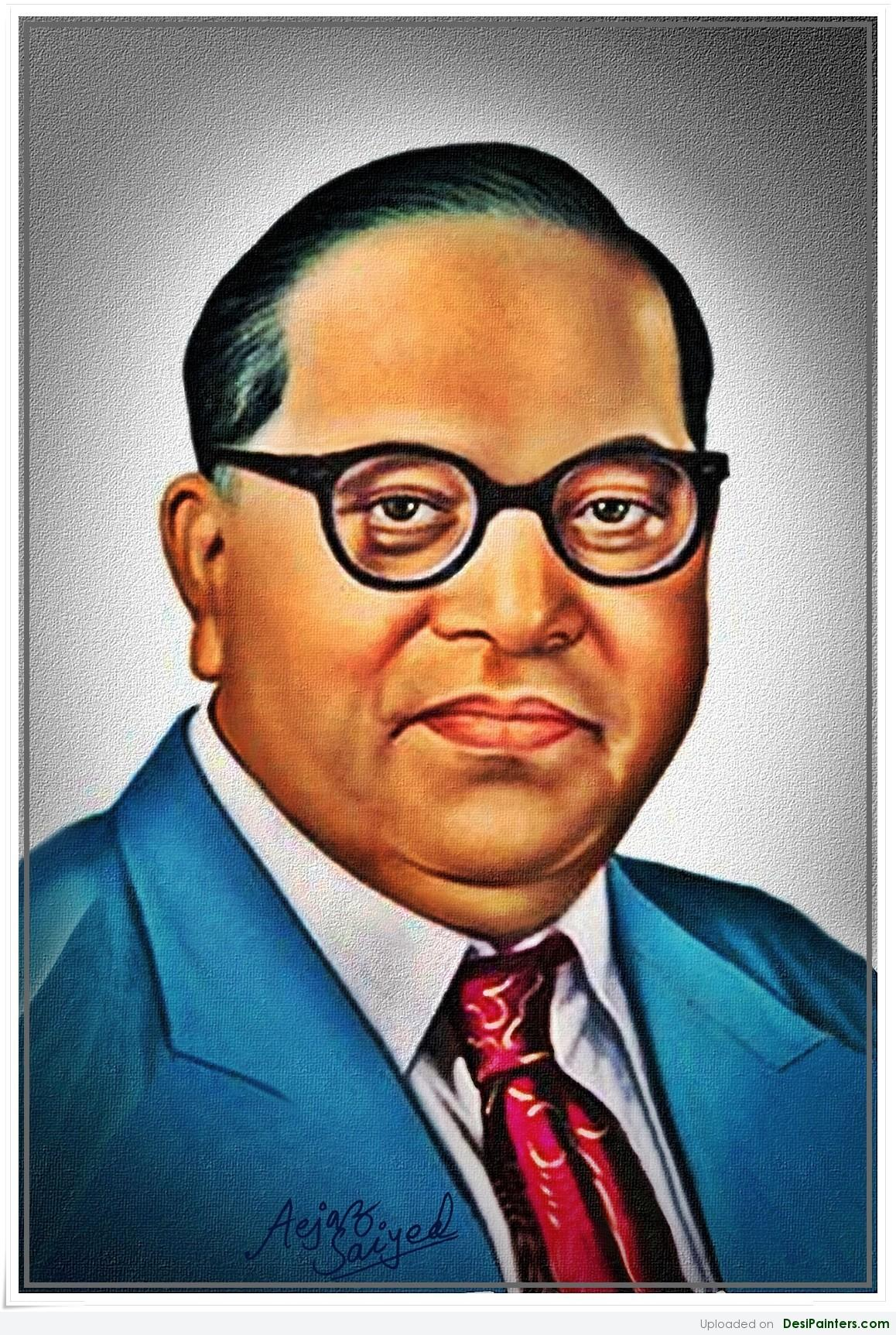 Painting Of Dr Babasaheb Ambedkar 1158x1725 Download Hd Wallpaper Wallpapertip