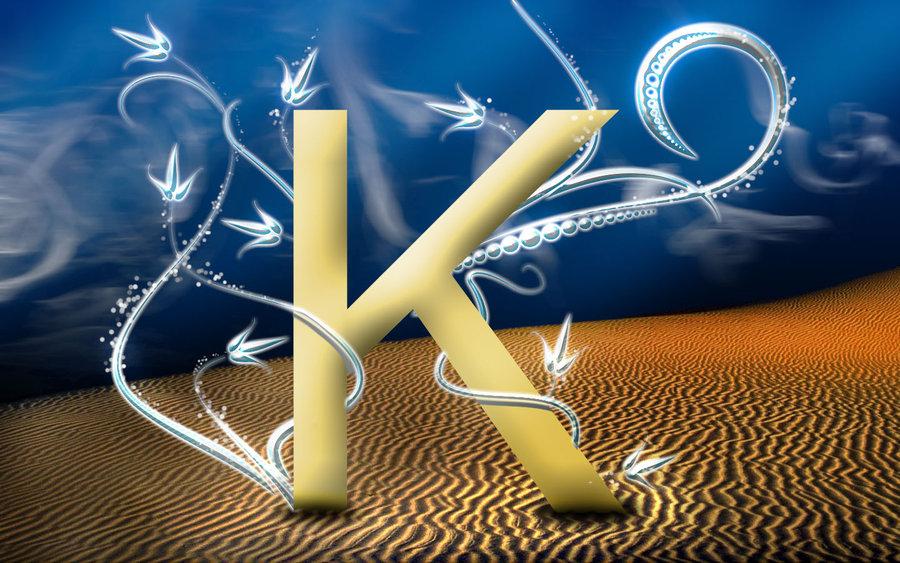 D Name Letter Wallpaper K Name Photo Download 900x563 Download Hd Wallpaper Wallpapertip