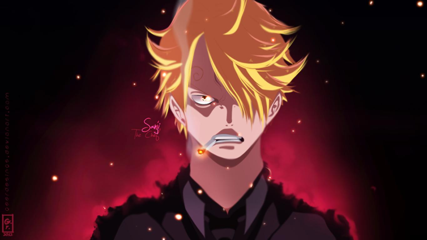 650011 Title Sanji Anime One Piece Sanji Wallpaper Sanji Wallpaper One Piece 1366x768 Download Hd Wallpaper Wallpapertip