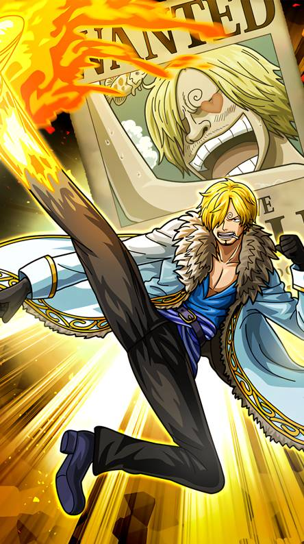 One Piece Sanji 444x794 Download Hd Wallpaper Wallpapertip
