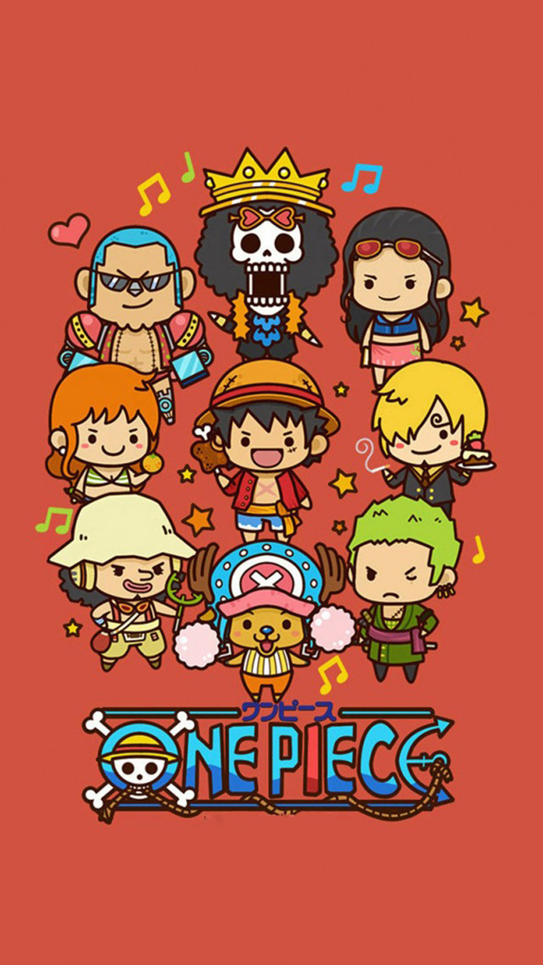 Cute Lovely One Piece Cartoon Poster Iphone 6 Wallpaper One Piece Wallpaper 4k Phone 1080x1920 Download Hd Wallpaper Wallpapertip